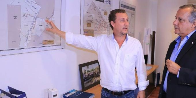 Ministros de Infraestructura de Chaco y Corrientes avanzarán con la traza Vilelas - Riachuelo