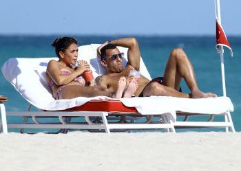 Las vacaciones de Carlos Tevez con su familia en Miami