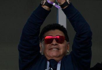 """Maradona carga contra Kun Agüero: """"No está para jugar 90 minutos"""""""