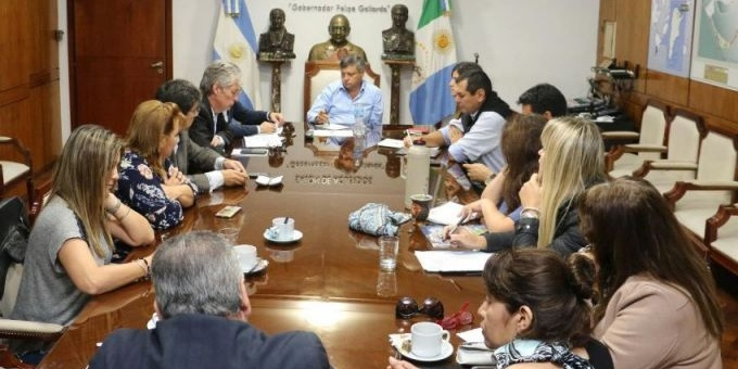 Peppo pidió a los diputados celeridad en la aprobación de créditos para obras hídricas