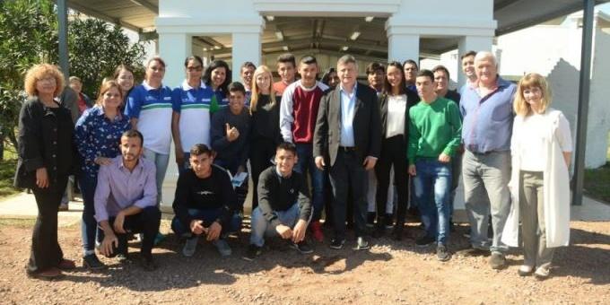 Peppo inauguró obras de refacción integral en la Aldea Tres Horquetas