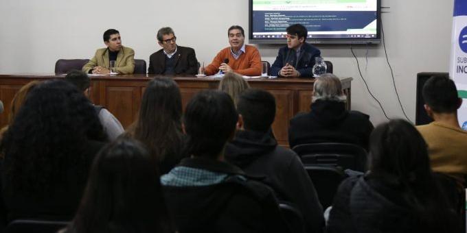 El intendente participó de la IV Jornada de Políticas Públicas sobre Consumos Problemáticos