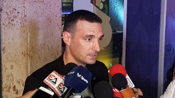 """Scaloni : """"Argentina necesita un título, no sólo Messi"""""""