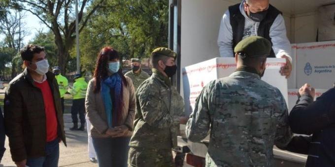 Chaco recibió nuevo cargamento con 34.300 dosis de la Vacuna Astrazeneca