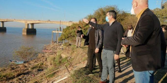 Defensas del barrio San Pedro Pescador: El Gobierno provincial confirmó el inicio de la obra