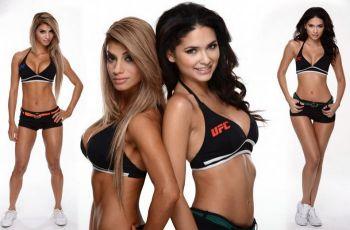 Conocé las intimidades de las octagon girls, las chicas que calientan la UFC