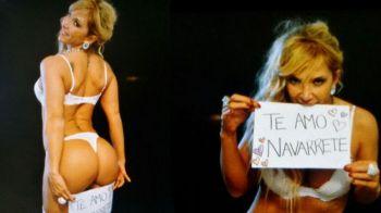 Jacky Pietrani le dedicó una foto hot a Manuel Navarrete por su cumpleaños