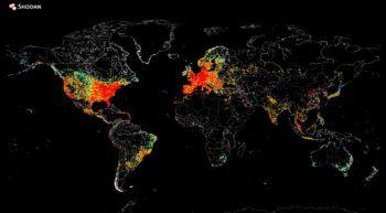 Conocé este mapa con todas las conexiones a Internet del mundo