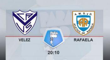 Vélez quiere volver al triunfo ante Rafaela