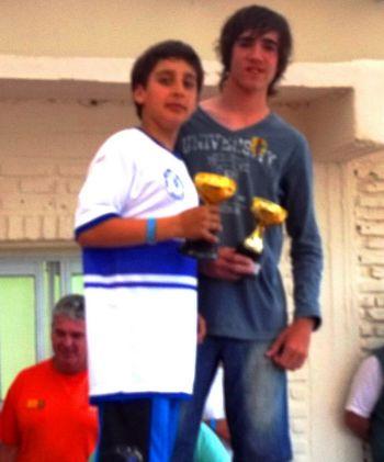 Eugenio Silveira y Lucas Passi Grillo se quedaron con el Gran Prix Río Uruguay