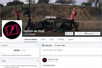 Una comunidad de Facebook cuenta el final de las películas, y causa polémica