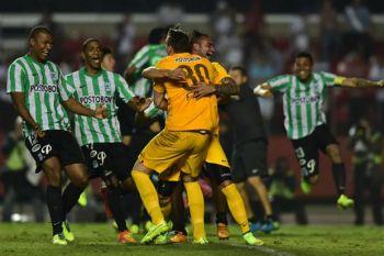 Atlético Nacional de Medellín, finalista de la Copa Sudamericana