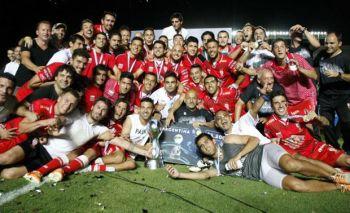 Huracán es campeón de la Copa Argentina, tras vencer a Rosario Central