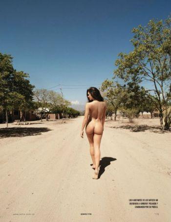 El desnudo de la colombiana Kimberly Reyes