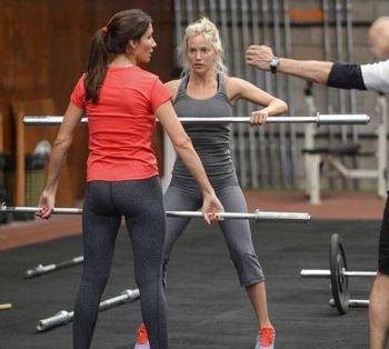El duro entrenamiento de Luisana Lopilato