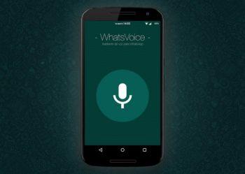WhatsVoice, una app para enviar mensajes a través de WhatsApp sin tocar el teléfono