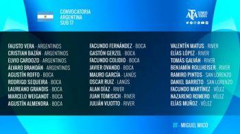 La Selección Sub 17 sólo tiene jugadores de Buenos Aires