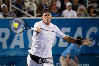 Del Potro ganó en su primer partido tras la final de la Copa Davis