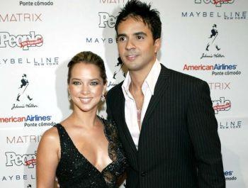 Luis Fonsi habló de su divorcio en el programa de su ex, Adamari López
