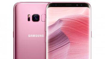 Especial para ellas: el nuevo Galaxy S8... ¡¡¡de color rosa!!!