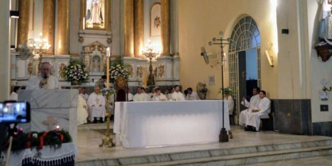 Concejales asistieron a la celebración por los diez años de Stanovnik como Arzobispo de Corrientes