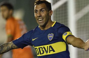 Boca le ganó a Banfield con gol de Tevez y lidera en la Superliga