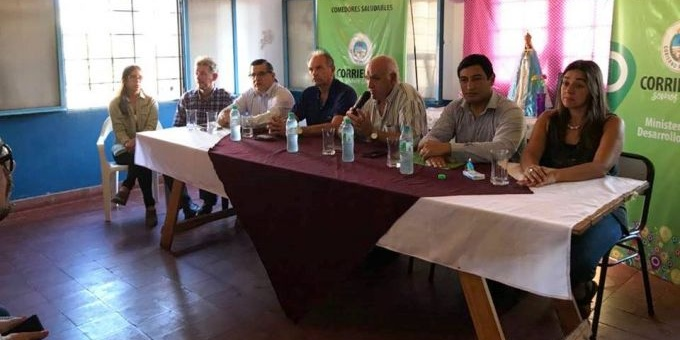 La Provincia presentó el Programa Comedores Saludables