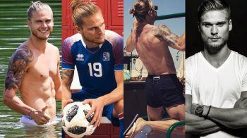 Rurik Gislason, el jugador de Islandia que enamoró a las argentinas