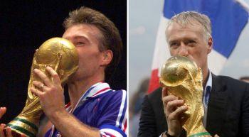 Récord de Didier Deschamps: el tercero en ganar un Mundial como jugador y técnico