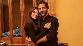 Eva De Dominici y Joaquín Furriel, separados pero cerca