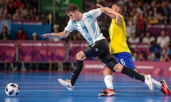 Argentina mereció más pero perdió con Brasil y luchará por el bronce en futsal