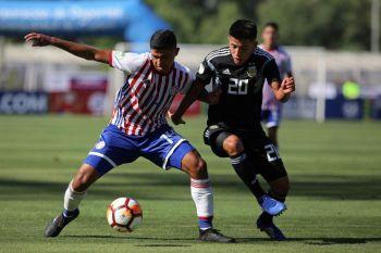 Sudamericano sub-20: Argentina debutó con un empate ante Paraguay