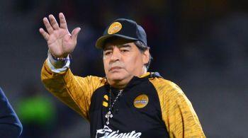 Maradona renunció a Dorados, se hizo resonancia en un hombro y sería operado