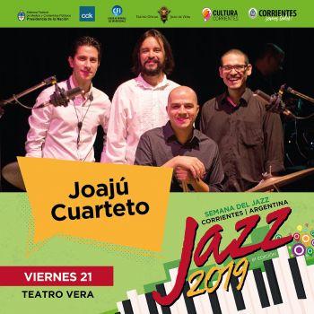 El viernes, Quintino Cinalli Trío, Joajú Cuarteto y Flopa Suksdorf en el Vera