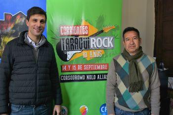 La Municipalidad dispondrá de colectivos gratis para asistir al Taragüí Rock