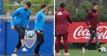 Con la mente en el Superclásico, Boca y River preparan sus partidos por Superliga