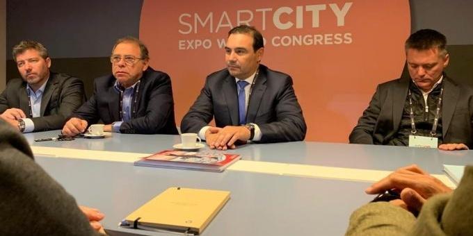 Valdés participa de la Exposición Mundial de Smart Cities