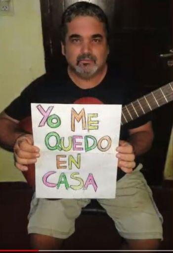 """La Orquesta Sinfónica y Folclórica se suman a la campaña """"Quedate en casa"""""""