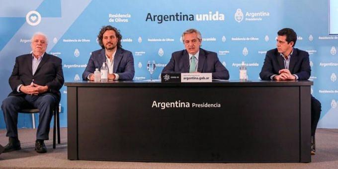 Coronavirus: Alberto Fernández anunció extensión de la cuarentena hasta el 26 de abril
