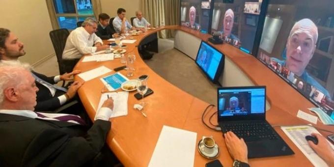 Alberto Fernández consiguió el respaldo político de los gobernadores para extender la cuarentena