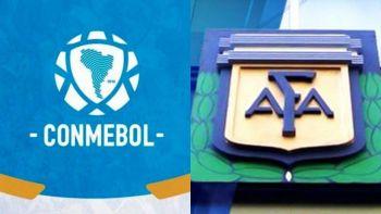 Conmebol celebró la vuelta de las prácticas de fútbol en Argentina