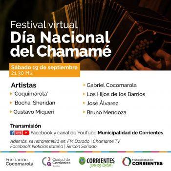 Este sábado se realizará un festival virtual en el Día Nacional del Chamamé