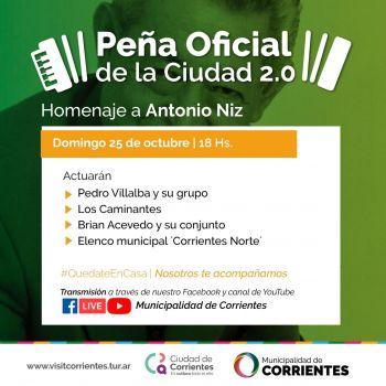 Con un homenaje a Antonio Niz, se prepara una nueva edición de la Peña de la Ciudad