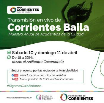 """""""Corrientes Baila"""" reunirá a los artistas locales de danza en el anfiteatro Cocomarola"""