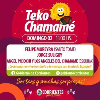 Mayo comienza con la mejor música en el Corrientes Cumbia y el Teko Chamamé