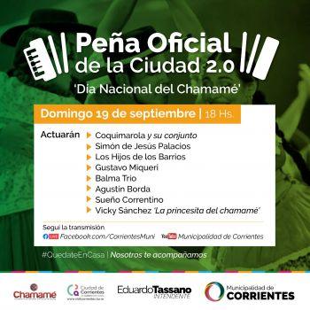 La Peña Oficial de la Ciudad celebra el Día Nacional del Chamamé